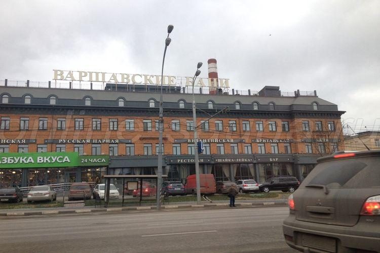 Варшавские бани, банный комплекс